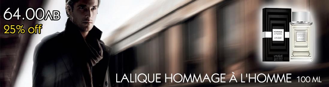 LALIQUE HOMMAGE A L´HOMME 100 ML