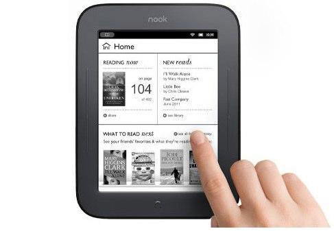 Електронна книга Barnes & Noble Nook Touch