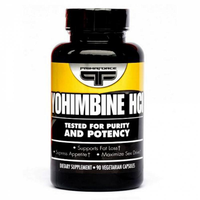 PRIMAFORCE Yohimbine HCL 2.5mg / 90 Vcaps