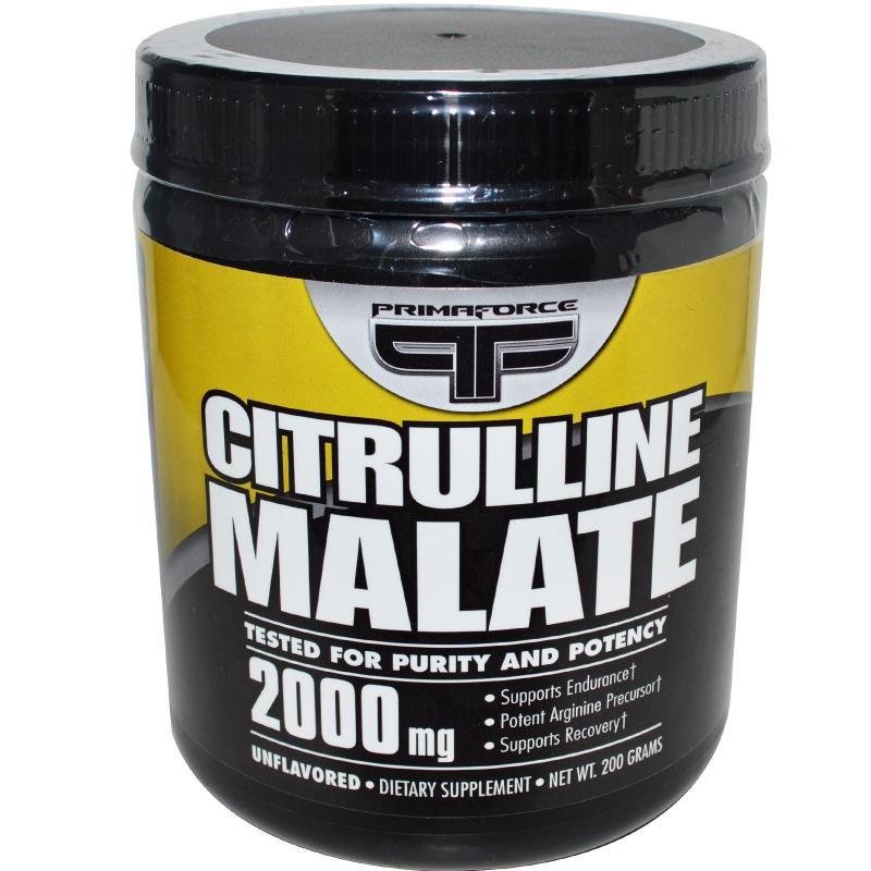PRIMAFORCE Citrulline Malate 200g.